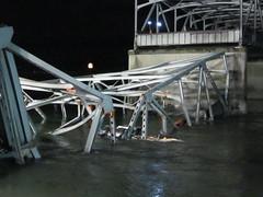 Bridge collapsed into Skagit River (EcologyWA) Tags: bridge i5 collapse mountvernon skagitriver