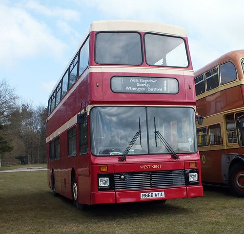 West Kent Buses R888ATA at Detling 2013