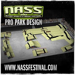 Who wants to see our 2013 Pro Park Design?! POW!!! #NASShype Tickets selling out! www.bit.ly/NASS13tix (NASS Festival) Tags: relentless energy drink nass festival