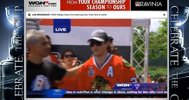 Stanley Cup Champions Celebration Parade Chicago Blackhawks