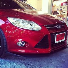 #pureblack #front lip #ford #focus 2013 #ลิ้นหน้า #ฟอร์ด #โฟกัส pure black #ชุดแต่ง #ประดับยนต์ #สเกิ๊ต #แต่งรถ #accessory #bodypart #aeropart