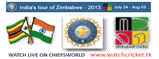 LIVE INDIA VS ZIMBABWE ODI SERIES 2013