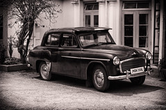 The ride ! (Hus9) Tags: bw car blackwhite nikon karnataka ooty d90 nikon50mm hasnainali