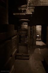IMG_1076 (sagarjitkar) Tags: shadow sepia temple piller