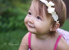 sweetness and light (rlonas) Tags: baby cute girl smile face grass smiling wonder happy infant perfect daughter adorable granddaughter cheeks browneyes mariah darling brownhair img7335 totallybiased