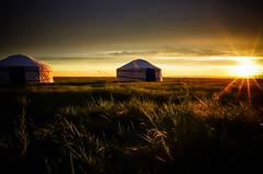 Sunset (Shasherry) Tags: sunset pentax grassland 15mm