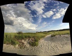 DC3250  IMG0352iPH5  Sand + Sky  © 2014 Paul Light (Paul Light) Tags: sky autostitch clouds sand massachusetts dunes gloucester goodharborbeach