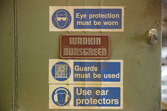 warning sign (Angela Chambers) Tags: wood sign work warning working hard husband images safety getty joiner