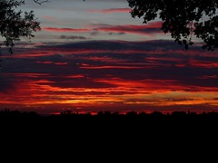 Sunset 7:45pm August 30th 2013 (Stuart Axe) Tags: uk greatbritain sunset summer england sky cloud sun clouds pub unitedkingdom august gb essex publichouse whitehart margaretting