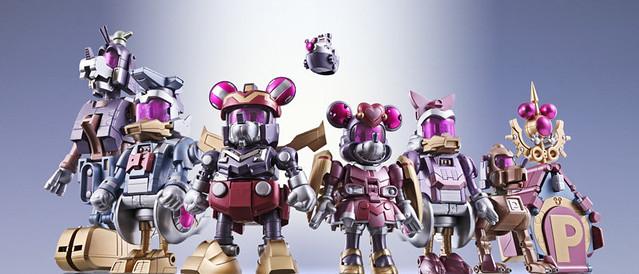 BANDAI 超合金 超合體 King Robot Mickey & Friends  Fantasy Color限定版本