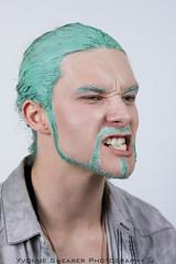 (Yvonne Shearer) Tags: new boy two man guy green art love beauty fashion hair beard photography model paint artist photographer makeup yvonne auckland zealand libby warren weeks 52 fifty shearer 52weeksofbeauty