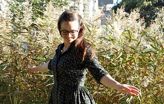 Final project Fall for Cotton (joellestlaurent) Tags: dress sewing mccalls 4769