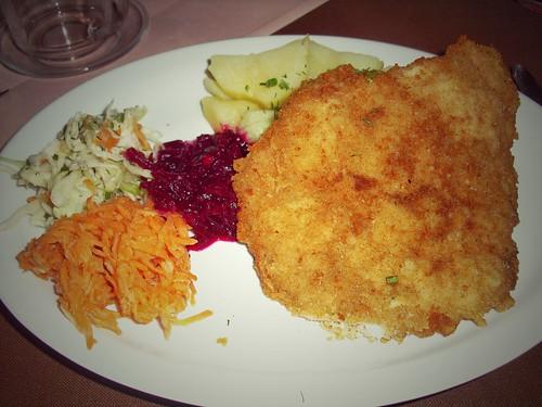 Repas, Cracovie, Pologne