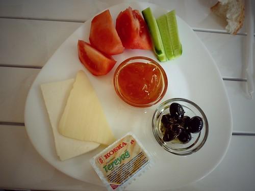 Petit déjeuner, Istanbul, Turquie