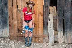 Nikon D800E Photos Pretty Cowgirl Model, Blue Jeans Cutoffs, Cowboy Hat, Cowboy Boots, & Gun! The Gold 45 Revolver! (45SURF Hero's Odyssey Mythology Landscapes & Godde) Tags: pictures california ranch blue girls red woman brown sun hot sexy girl beautiful beauty hat cali hair walking lens ed gold la town los model eyes nikon pretty gun photoshoot image boots zoom photos d walk supermodel sandy ghost goddess super images lingerie malibu 45 full jeans journey ii western ghosttown shorts mp cowgirl brunette revolver cowboyhat 800 mythology vr heros d800 cutoff 70200mm cutoffs cutoffjeans f28g 45surf d800e