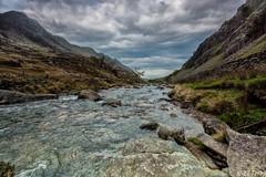 Downstream, Nant Peris (El Tel63, Photographer & Phantom flyer) Tags: water wales rocks stream llanberis snowdonia infocus northwales sigma1020mm nantperis canon50d silverefexpro2 eltel63 vision:mountain=073