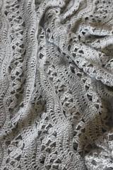 Alpaca Lace Shawl (jchants) Tags: alpaca lace shawl knitted mountvernonwa southforkfarms skagitcountyfestivaloffamilyfarms