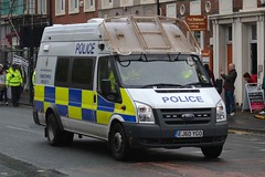 EJ60 YGO (S11 AUN) Tags: ford public support order pov police northumbria transit vehicle van carrier psu unit ej60ygo