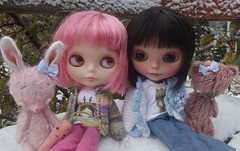 blythes in the snow