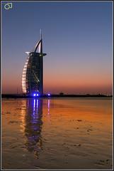 Burj Al Arab (Jogesh S) Tags: longexposure reflection beach water canon hotel evening al asia dubai uae atlantis arab burjalarab 7star burj dxb 6d canonef1635f28l jumera canonef1635mmf28liiusm 1635f28 برجالعرب ബു൪ജ്അൽഅറബ്