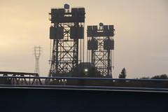 BRIDGE IN THE BORO (M7CCF STYLE! 2014) Tags: bridge sun cold set canon eos fly over tees boro 650d m7ccf