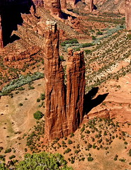 CANYON de CHELLY - SPIDER ROCK [home of the Spider Grandmother] (robinb44) Tags: pueblo oasis tribe canyondechelly anasazi nationalmonument indigenous oases canyondechellynationalmonument spiderrock ussouthwest nationalregisterofhistoricplaces navajonations utahjuniper monumentcanyon chuskamountains usnationalparksservice whitehouseruintrail delmuerto ancientpueblopeoples newmexicanpine
