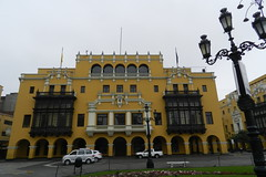 Lima Palacio o Club de la Union Plaza de Armas Peru 15 (Rafael Gomez - http://micamara.es) Tags: world plaza heritage peru club de la mayor lima armas union per unesco balcon por palacio balcones unin humanidad patrimonio ph565