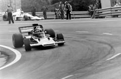 Lotus 72 Ronnie Peterson Entrenos del GP de España 1.973 Circuito de Montjuich (Manolo Serrano Caso) Tags: españa 1 formula 1973 gp montjuich circuito ronniepeterson lotus72e