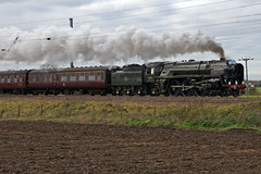 70013 Oliver Cromwell - Biggleswade (Neil Pulling) Tags: pacific bedfordshire steam nationalrailwaymuseum steamtrain steamlocomotive biggleswade eastcoastmainline olivercromwell britishrailways ecml 70013 britanniaclass brstandardclass7 eastbedfordshire