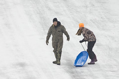 DJT_5636 (David J. Thomas) Tags: winter ice children december icestorm sledding arkansas sled batesville