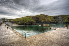 Mullion Cove (Ian Garfield - thanks for over 1 Million views!!!!) Tags: holiday ian photography coast cornwall angle harbour cove wide august garfield hdr walsall burntwood mullion 2013