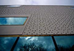 Voralberg Museum Bregenz by Cukrowicz Nachbaur Architeckten (Theo W L Jones) Tags: trip architecture buildings student europe tour fieldtrip oxford material year2 brookes unitb