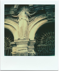 polaroid1311 (www.cjo.info) Tags: people sculpture woman art film cemetery statue metal stone architecture polaroid sx70 scotland gate iron unitedkingdom decay glasgow stonework tomb victorian carving integral corinthian classical ironwork citycenter italianate italianrenaissance glasgownecropolis gravegraveyard geo:state=scotland geo:city=glasgow theimpossibleproject geo:countrys=unitedkingdom sx70color instantlab geo:lat=558625 geo:lon=4231944444445