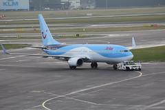 PH-TFA Boeing 737-8K5 Arke (FokkerAMS) Tags: boeing737 arke phtfa {vision}:{beach}=0632 {vision}:{car}=0894 {vision}:{outdoor}=0644 {vision}:{ocean}=0631