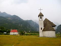 Kerkje in Thethi
