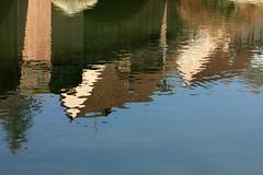Watercolors (gripspix) Tags: nature natur fluss spiegelung neckar riverreflection aphotowalk 20140307