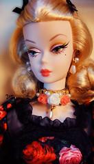 Fiorella Barbie (possiblezen) Tags: red paris france robert japan french japanese italian doll head barbie first best collection convention blonde theme limited ultra platinum 2014 fiorella silkstone 2013 dulcissima