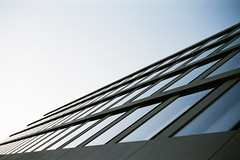 FHS #2 (Markus Moning) Tags: blue windows sky building film window st architecture facade analog 35mm schweiz switzerland fuji superia cd fenster voigtlander himmel 400 fujifilm blau stgallen gallen voigtlnder fassade vito fhs moning xtra sanktgallen markusmoning