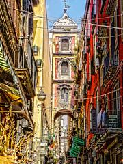 Napoli, San Biagio dei Librai (etzelinus) Tags: colors cityscape napoli