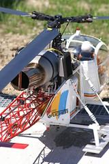 öamtc christophorus  4 147 (Christandl) Tags: rc heli modellbau wucher lama helicopter helikopter hubschrauber öamtcchristophorus4 öamtc