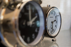 Two Alarm Clocks (Vahan Aghajanyan) Tags: two alarm clock 30 germany pair paar numbers uhr lneburg  kienzle