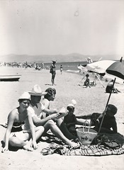 Playa en Torremolinos (Málaga)