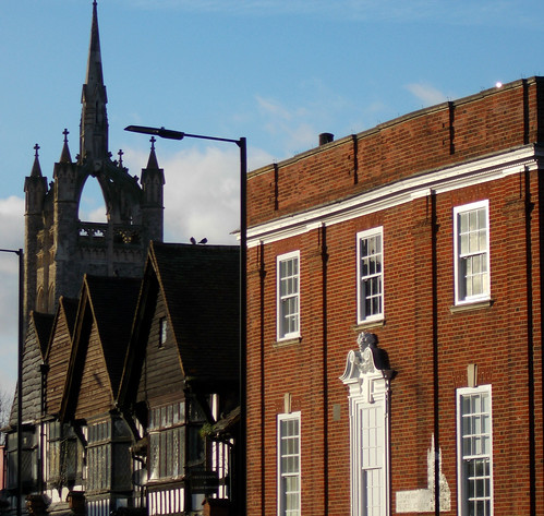 Town centre, Sutton, Surrey, Greater London