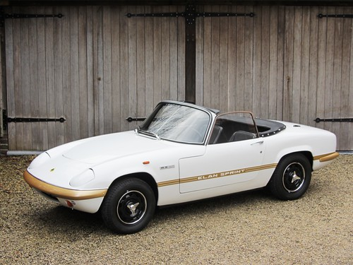 Lotus Elan Sprint (1971).