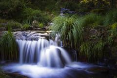 Meavía waterfall (6:52 - long exposure) (ponzoñosa) Tags: longexposure light río river waterfall galicia cascada fervenza forcarei meavía