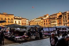Plaa Major de VIc (Ferran Barcelona) Tags: plaza square spain nikon catalonia mercado vic catalunya arco febrero mercat plaa osona 2015 arcada vich mercadal 18105mm d5200 2015207