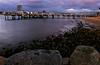 Coronado Island: Ferry Landing (muirtrail68) Tags: dusk scan 35mmfilm coronadoisland ferrylanding coronadobay nikoncoolscan4000