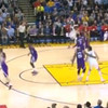 Watch Every Shot Of Klay Thompson's Record Breaking 37 Point Quarter Against The Kings