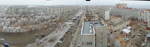 Спартановка под снегом