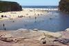 Wattamolla Beach on a busy day (everyday sh⊙_☉ter) Tags: park beach forest sydney waterfalls kookaburra wattamolla garie royalnationalpark audley stanwell hackerriver